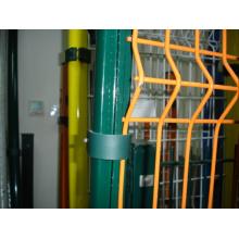 PVC recubierto de alambre soldado alambre de jardín de valla
