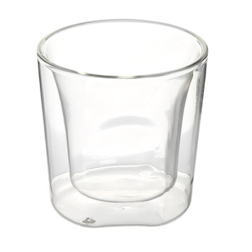 Quality Inspection for for Glass Coffee Cup 50ml Borosilicate Double Wall Glass Coffee Cup export to Romania Factory