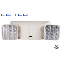 UL lámpara del LED, luz de emergencia de cabezal doble