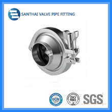 Stainless Steel Sanitary Clamped Check Valve for Food