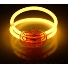 Bracelete de abóbora brilha de halloween set (hlw001)