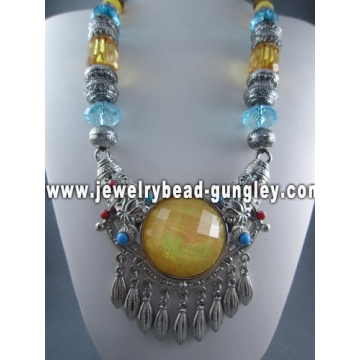 Handmade Tibetan necklace