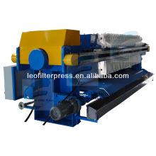 Filtro Leo Prensa de filtro de fábrica de azúcar automática completa