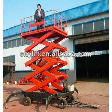 truck mounted aerial work platform/mobile scissor lift