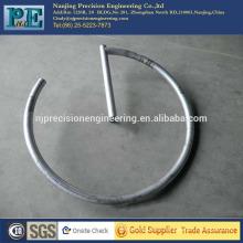 Cnc de alta precisión girando la varilla de soldadura de aluminio 6061