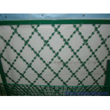 Clôture de maille de sécurité (revêtue de PVC)