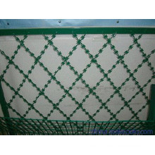 Safety Mesh Fence (PVC coated)