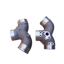 Supply oem sand casting aluminum intake manifold for performance car as drawing or sample automobile engine factory