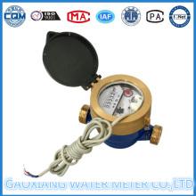 Medidor de agua de impulso único con 5 mecanismos