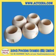 Dn25/Dn50/Dn100 Zirconia Ceramic Ball Valves Chinese Supplier