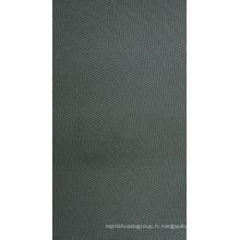 Tissu de polyester élastique élevé avec revêtement de PVC