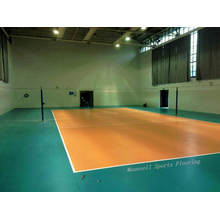 Preiswerter 2017 heißer Verkauf PVC, der Volleyball-Fußboden rollt