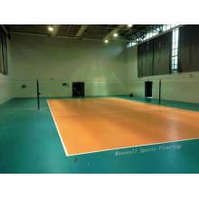 Piso barato del voleibol del PVC de la venta caliente 2017