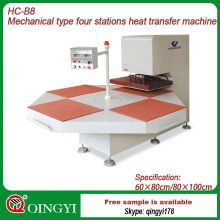 fabric heat transfer printing machine