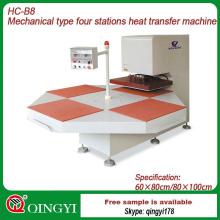 máquina de impressão de transferência de calor de tecido