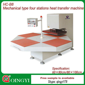 fabric heat transfer printing machine