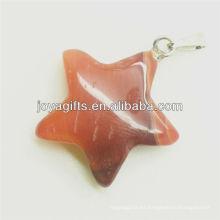 Colgante natural de la estrella de la alta calidad al por mayor para el collar