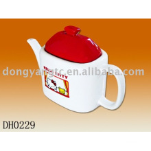 Factory direct wholesale Hello kitty ceramic teapot set