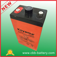 Batería estacionaria AGV de plomo-ácido 2V 200ah para telecomunicaciones, sistema solar