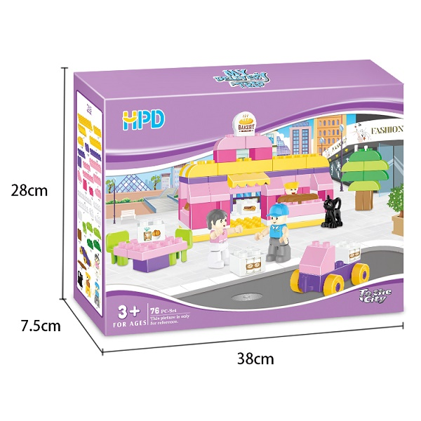 Children's Construction Bricks Toy