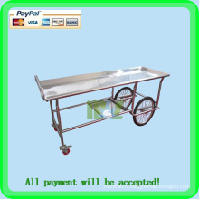 Stainless steel mortuary cart / corpse cart MSLMC01