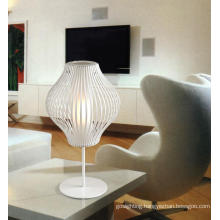 Contemporary White Metal Decorative Table Lamp (MT20590-1-320)