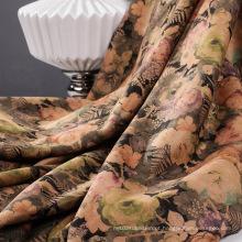 Impressão de tecidos de camurça para o Outono / Inverno
