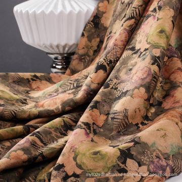 Печать замшевых тканей для осени / зимы