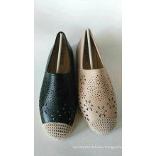 Top Modern New Style Cut out Flat Shoe for Women (NU023-4)