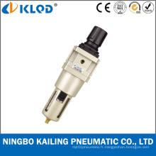 Combinaison de filtre à air et de régulateur pour la température normale