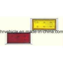 Rectangle Side Marker Lamp for Trucks Trailers