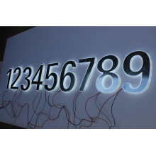3D Metal and Solid Acrylic Letters and Numbers