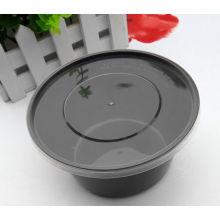 Recipiente descartável FDA / LFGB do Kitchenware do alimento plástico claro de 700cc e de 1000cc