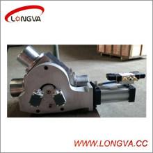 Нержавеющая сталь 45 градусов подключите перепускной клапан с приводом