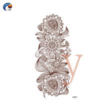 Henna novo design estêncil na China