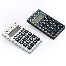 8 Digits Small Colorful Thin Pocket Calculator for Children