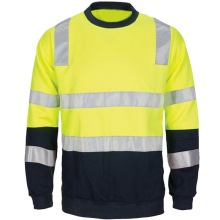 High Visibility Polo Reflective Tape Workwear T-Shirt