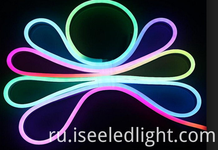 12V Rgb Full Color Neon Strip