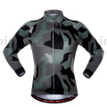 OEM Women′s Camouflage Sport Tights Cycling Wear Top