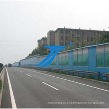 Lámina de policarbonato de alta calidad para barrera de sonido de carretera