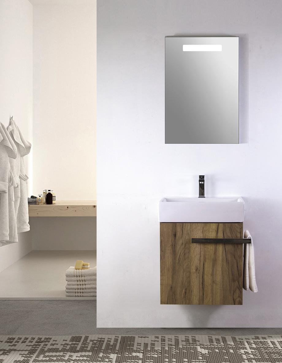 Mdf Wood Bathroom Cabinet