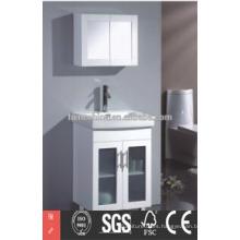 Alta calidad europea moderna montado en la pared tocador de baño unidades fabricadas en china