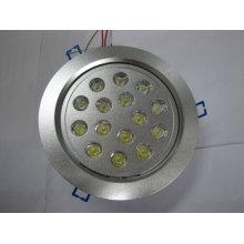 Lâmpada do teto do diodo emissor de luz do diodo emissor de luz 15 * 1w epistar ou microplaqueta do cree usada