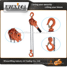 Galvanized chain lever hoists lever block