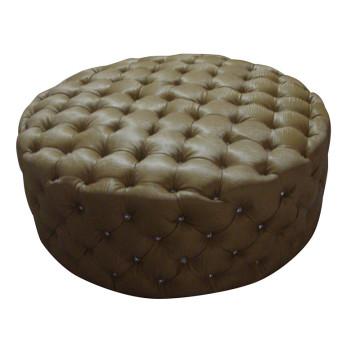 Round Ottoman Hotel Furniture