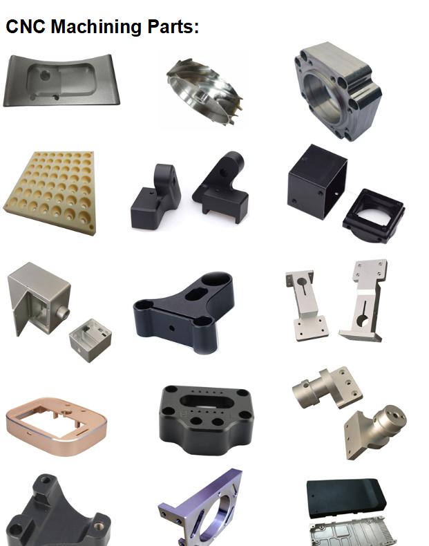 Rapid cnc parts