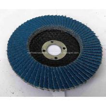 Metal de disco de aleta de óxido de zirconio 20% que muele 4 pulgadas