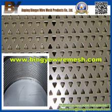 Materiais de construção Metal perfurado decorativo para armários