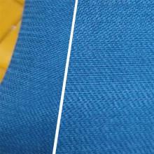Rayón de viscosa de sarga de punto de tela teñida en prendas de vestir