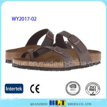 Hot Sale Student Footwear Outdoor Cork Slippers